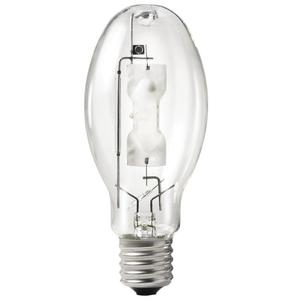 RAB LMH400PS Metal Halide Lamp, Pulse Start, ED28, 400W, Clear