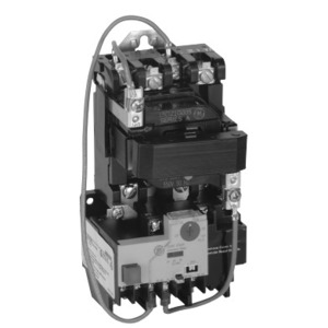 GE CR306B005 Starter, Magnetic, NEMA Size 0, 3PH, 600VAC Coil, 600VAC, 18A, Open