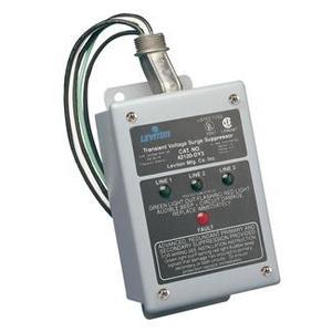 Leviton 42120-DY3 Surge Protection Device, 120/208VAC, 3P Wye, 220VAC, 3P Delta