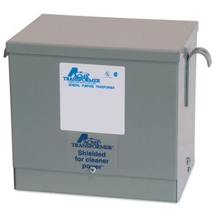 Acme T2A795171S Transformer, Dry Type, 6KVA, 600 Delta; - 480Y/277VAC, 3PH, NEMA 3R