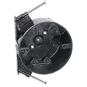 "Carlon N-423-C-V Outlet Box, Round, Diameter: 4"", 2-1/2"" Deep, New Work, Non-Metallic"