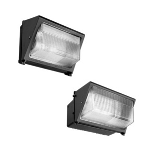 Lithonia Lighting TWR2C400MTBSCWALPI Metal Halide Wall Pack, 400W, Multi-Tap, Lamp Included