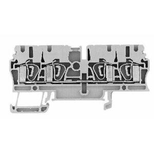 Allen-Bradley 1492-L3Q Terminal Block, 25A, 600V AC/DC, 2 Connection Side, Gray, 2.5mm