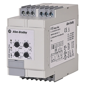 Allen-Bradley 813S-V3-480V Relay, Motor Protection, Monitoring, Voltage, 3PH, 480VAC, 2P