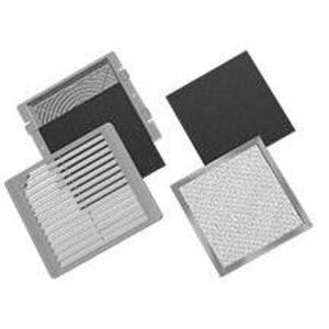 "Hoffman TFLT6UL12 Filter Kit, Replacement, Type 12, Fits 6"" Fan, Non-Metallic"