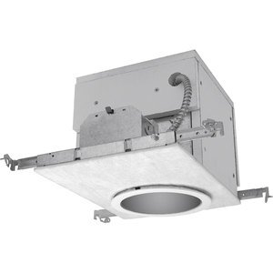 "Progress Lighting P62-FB Non-IC Housing, FireBox, 6"", Air-Tight"