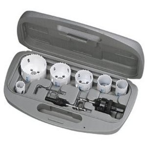 Ideal 35-400 8-Piece Hole Saw Kit