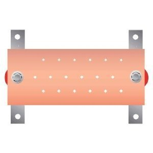 "Chatsworth 10622-010 Busbar, Wall Mount Kit, 4"" x .25"" x 10"", Copper"