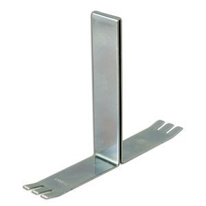 "Hoffman F66BB2C Barrier Brackets (5), 2 Compartment, 6"" x 6"", Type 12 Lay-In Wireway"