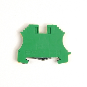 Allen-Bradley 1492-JG4 Terminal Block, Grounding, 22 - 10AWG, Green/Yellow, 4mm