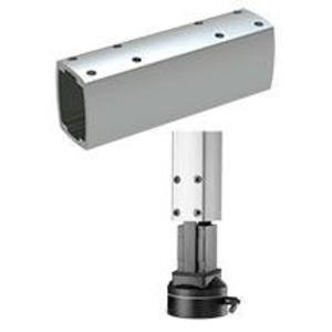 "Hoffman S2MT250 Mounting Tube, 2-3/4"" x 3-1/2"" x 10"", Aluminum"