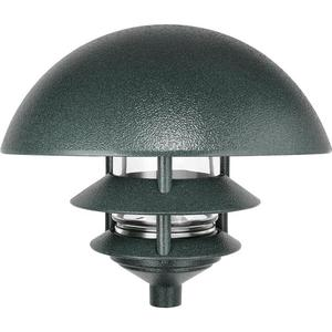 RAB LLD3VG Lawn Light Dome 3 Tier Incandescent Verde Green