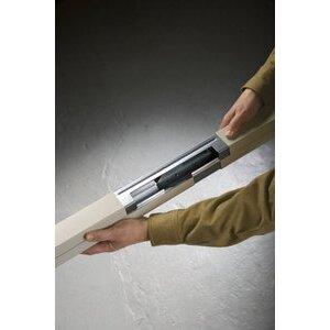 Wiremold AMDTP-B Add-On Power Cover for Tele-Power Pole, Aluminum
