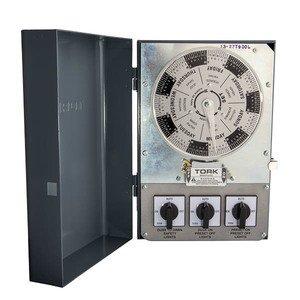 NSI Tork T930L 120v 3-spdt 20a Lighting Control Center