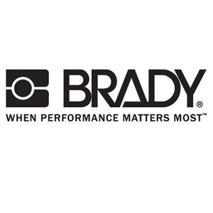 Brady 99454 B302 3.5x5 Blk/org/wht 5/pk Arc Flash Lb