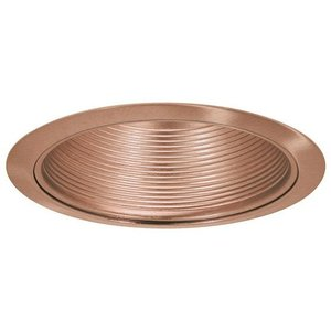 "Elite Lighting B530CP-CP Baffle Trim, 5"", Copper Baffle and Trim"