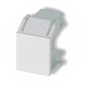 ON-Q WP3455-WH Snap-In Blank, AnyPort, White, Package of 10