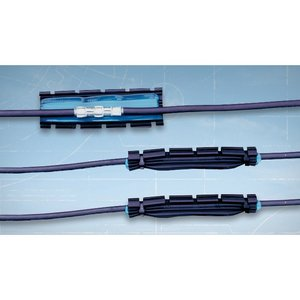 "Raychem CPGI-GELWRAP-18/4-200UL GelWrap Splice, 8"" Long, 14 - 4/0 AWG With Ground"