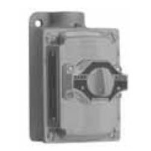 Appleton EDS21271 Selector Switch Station, 2 Position, Dead End, 10A, 600 VAC
