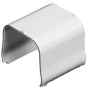 Wiremold 706WH Raceway Connection Cover, Steel, White, 700 Series