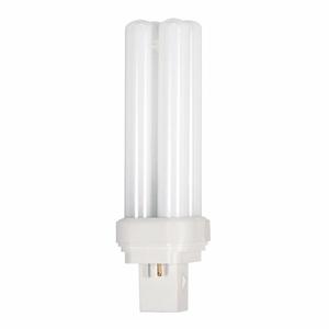 Satco S6023 Compact Fluorescent, 28 Watt, 5000K, GX32d-3 Base, 120 Volt