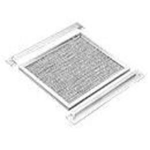 "Hoffman AFLT812 Louver Plate Kit Filter, 14.14"" x 8.25"", Aluminum"