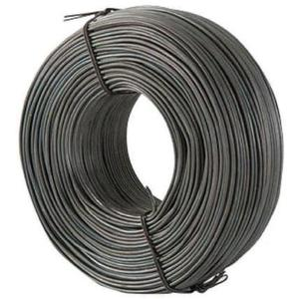 Bizline RTW5P Tie Wire, 16 Gauge, Plain Finish, Box of 5 Rolls