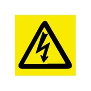 Brady 89153 Electrical Hazard Sign
