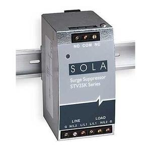 Sola Hevi-Duty STV25K-10S Surge Protection Device, In-Line, 1PH, 120VAC, 20A, 2P, 25kA