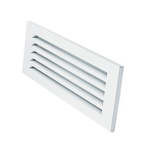 Juno Lighting 837-WH Opal Lens with Angled Louvers Step Light Trim