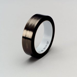 """3M 5490-1X36YD Film Tape, Extruded, 1"""" x 36 yd, Black, Limited Quantities Available"""
