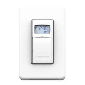 Intermatic EI400WC Time Switch, In-Wall, White