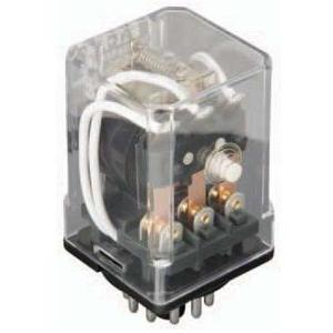 Eaton D3PR5A Relay, 120VAC Coil, DPDT, 16A, 11-Pin, Plug -In Style