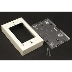 Wiremold 5748SWH Stl Shallow Dev Box White