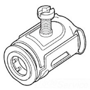 """Cooper Crouse-Hinds QLK50S MC/AC Cable Connector, Snap-In, 1/2"""", Steel"""