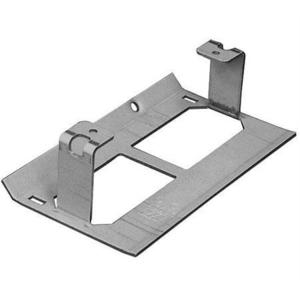 Wiremold G3007C Raceway Device Bracket, 3000 Series, Steel