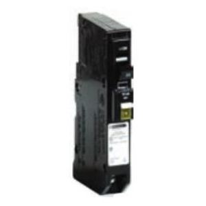 QO120CAFI Arc-Fault Interrupter Circuit Breaker, Plug-In, Type QO, 1P, 20A, 120/240V