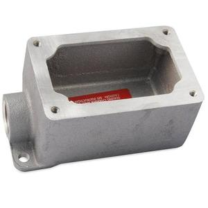 "Appleton EFD150-NL-Q Mounting Body, EFD TYPE, 1/2"", 1-Gang, Dead-End, Malleable"