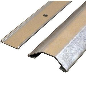 """Wiremold 1500-10 Raceway Base & Cover, 1500 Series, Steel, 1-9/16"""" x 11/32"""" x 10'"""
