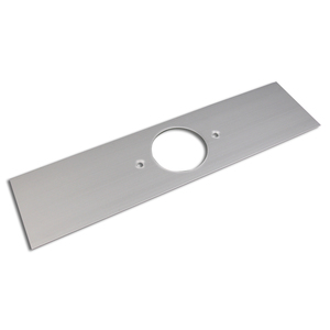"Wiremold ALA-F Single Receptacle Cover Plate / ALA3800 Series, 1.59"", Aluminum"