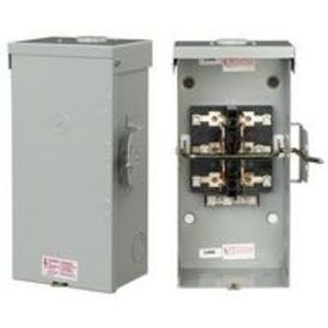 GE TC10424R Safety Switch, Double Throw, Non-Fused, 200A, 240VAC, NEMA 3R