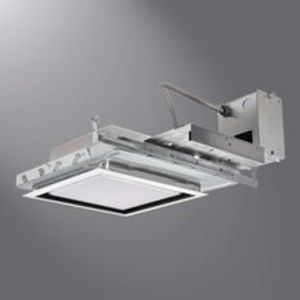 "Halo M200T 11"" New Construction Square Non-IC MH/HID Housing"