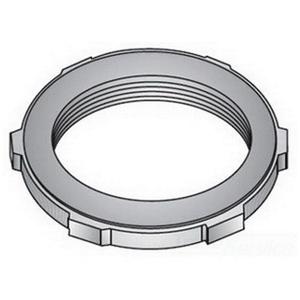 """OZ Gedney SLG-125S Sealing Locknut, 1-1/4"""", Steel"""