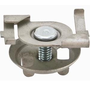 """Erico Caddy 4G16 Fixture Support Clip, Twist-On, 1/4""""-20 Stud, 5/8 Length, 5/8"""" Tee"""
