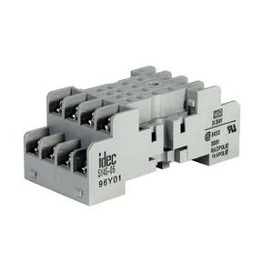 IDEC SY4S-05 Socket, 14 Blade, Screw/Clamp Terminals, Standard, 7A@300VAC