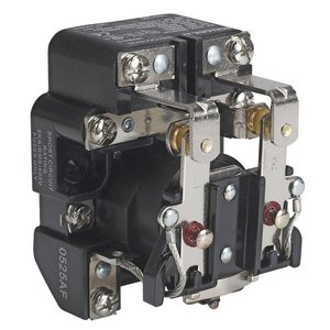 Square D 8501CO16V20 Power Relay, 120VAC Coil, 30A, 1PH, 2PDT, Open Type C, 600VAC Rated