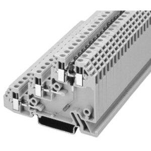 Allen-Bradley 1492-WTS3LP Terminal Block, 3 Circuit Sensor, 2.5mm, Red LED, PNP Device, Gray