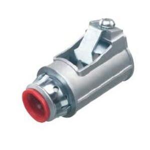 "Arlington 5010AST MC/AC/Flex Connector, 1/2"", Insulated, Die-Cast Zinc"