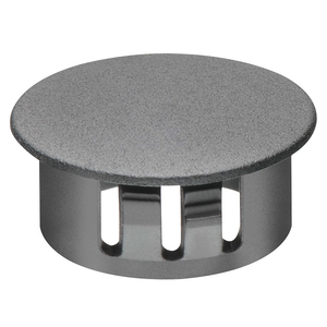 "Arlington NM904 Knockout Seal, Type: Snap-In, 1-1/2"", Black, Non-Metallic"