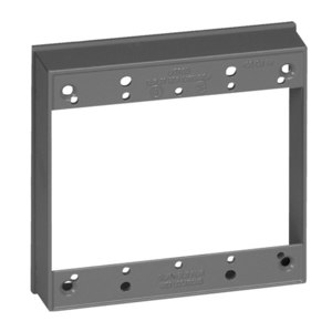 Appleton WE2 Weatherproof Extension, 2-Gang, Cubic Inches: 16, Die Cast Aluminum